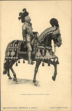 Felipe III 1598 - Idea for horse barding.