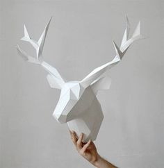 Animal Paper Heads