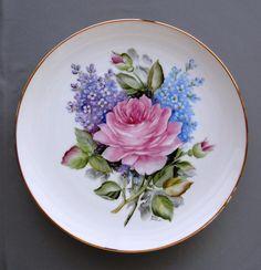 859  Rose Lilac Plate  Photograph  - 859  Rose Lilac Plate  Fine Art Print