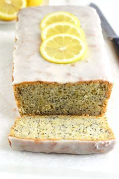 The very best Gluten Free Lemon Poppyseed Bread from What The Fork Food Blog. It tastes like spring! | whattheforkfoodblog.com