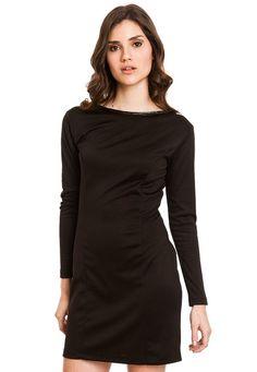 Vestido Negro Vespertine Selene de Vespertine en Dafiti 714dae32a34