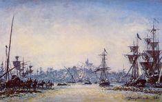 The Port of Marseille Johan-Berthold Jongkind - 1881