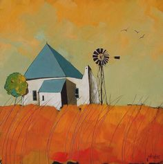 Artwork of Glendine exhibited at Robertson Art Gallery. Original art of more than 60 top South African Artists - Since Mini Canvas Art, Abstract Canvas Art, Illustrations, Illustration Art, South African Artists, Africa Art, Landscape Artwork, Encaustic Art, Tropical Art