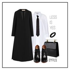 """""""Less Is Yes"""" by romana-aa ❤ liked on Polyvore featuring Acne Studios, M2Malletier, Givenchy, Marni, André Ribeiro, women's clothing, women, female, woman and misses"""