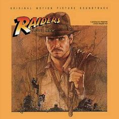 """Raiders Of The Lost Ark"" (1981, Columbia).  Music from the movie soundtrack."