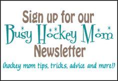 whose a busy hockey mom?