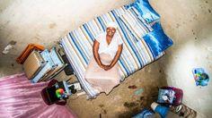 Fotógrafo registra onde as pessoas dormem ao redor do mundo