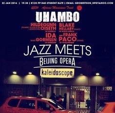 #jazz meets #beijingopera at Kaleidoscope @grobertson_hp