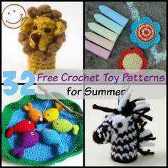32 Free Crochet Toy Patterns | AllFreeCrochet.com