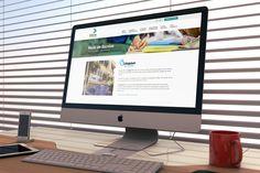 """Página """"Rede de Escolas"""", site Eleva Educação - desktop."""