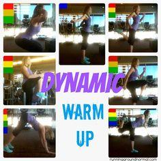 Dynamic Warm Up Exercises