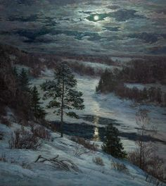 Stanislav Brusilov - Winter Night Eye