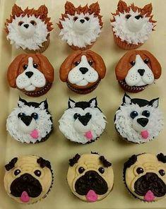 puppy cupcakes for kids \ puppy cupcakes . puppy cupcakes for kids . puppy cupcakes for dogs . puppy cupcakes for kids easy . puppy cupcakes for dogs easy . puppy cupcakes for dogs birthdays . Dog Birthday Cupcakes, Puppy Dog Cupcakes, Cupcakes For Dogs Recipe, Fancy Cupcakes, Puppy Cake, Animal Cupcakes, Themed Cupcakes, Dog Cakes, Cupcake Cakes