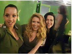 Orange is the New Black - Dascha Polanco, Nastasha Lyonne, and Laura Prepon