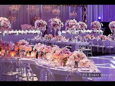 A Crystal Dreamscape Wedding - R5 Event Design - YouTube