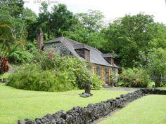 Bitrth place of Josephine de Beauharnais, holds the La Pagerie Museum. (Trois-Ilets, Martinique).