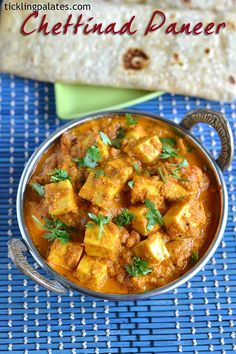 Chettinad Paneer – Cottage cheese cubes simmered in fresh aromatic gravy using whole spices. GET THE RECIPE Chettinad Paneer submitted by Tickling Palates Related Postspaneer jalfreziMurungakkai Oorpugobi matar keemaHot Sweet Sour Vegetables Milk Recipes, Veggie Recipes, Indian Food Recipes, Gourmet Recipes, Vegetarian Recipes, Healthy Recipes, Ethnic Recipes, Free Recipes, Appetiser Recipes