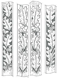 drawings patterns for carving in leather - Google Search