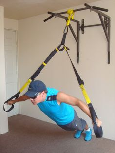Trx Gym, Crossfit Gym, Gym Workouts, Home Made Gym, Diy Home Gym, Plank Workout, Boxing Workout, Indoor Gym, Gym Video