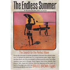 Bruce Brown Endless Summer Surf Film Wood Sign