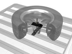-Ideal für Wohnmobile Transportsicherung Sicherungsnetz L 100 x B 80 cm