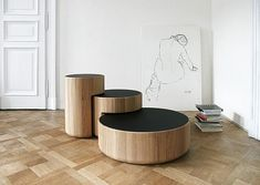 Nesting tables by Dan Yeffet and Lucie Koldova