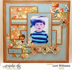 Tan dulce con Precious Memories por Gráfico 45  - Created by Lori Williams of Pinkcloud Scrappers