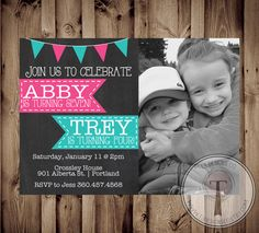 595 best joint birthday parties images on pinterest joint birthday