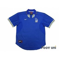 Italy Euro 1996 Home Shirt - Football Shirts,Soccer Jerseys,Vintage Classic Retro - Online Store From Footuni Japan Italy Football Shirt, Retro Football Shirts, Nike Football, Euro 1996, Italy National Football Team, Soccer Jerseys, Retro Vintage, Polo Ralph Lauren, Japan