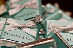 Ring & Chocolates - Tiffany & Co