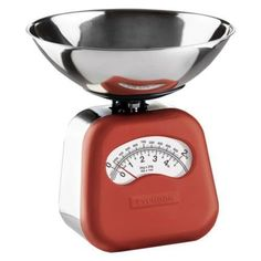 Typhoon Novo Mechanical Kitchen Scales - Red