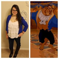 awaitingmytriptodisney:  Day 30: The Beast  March Disneybound Challenge