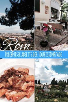 Du bist bei Städtereisen grundsätzlich lieber individuell unterwegs oder brauchst eine Pause vom Trubel vor den beliebtesten Sehenswürdigkeiten in Rom? Dann inspirieren Dich meine 16 Erlebnisse jenseits von Petersdom, Kolosseum & Co. hoffentlich einmal von den vollen Touristenpfaden in Rom abzuweichen. Pause, Around The Worlds, Italy, Tips, Outdoor, Travel Ideas, Countries, Camper, Travelling