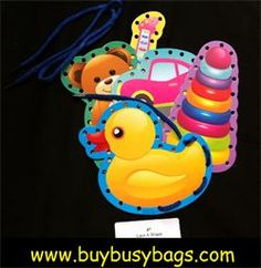 Busy Bags are educational on the go activities for kids on the go!