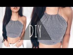 DIY 3 Tumblr Halter Bikini Tops from bottoms by THATTOMMYGIRL - YouTube