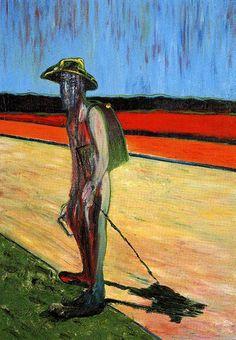 Bacon, Hommage aan van gogh, 1985
