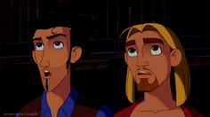 Tulio and Miguel... Miguel and Tulio.. Mighty and powerful GODS