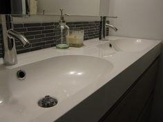 Godmorgon IKEA Series Double Sink by Arnie + Michelle, via Flickr