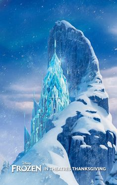 Day 7 favorite Disney castle: elsa's ice castle is my most favorite because its so elegant and beautiful.