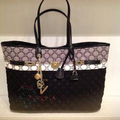 Shopping V73 Spring Summer 2015, Michael Kors Jet Set, Monogram, Shoulder Bag, Tote Bag, Pattern, Bags, Shopping, Fashion