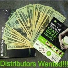 Make money! Become an itworks distributor. Join my team www.takecontrolofyourbody.com (323) 212-0100