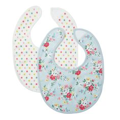 New Baby | Pack of 2 Clifton Rose Bibs | CathKidston - purchased :-)