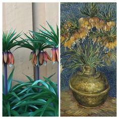 Både jeg og Vincent van Gogh er glad i keiserkroner Vincent Van Gogh, Plants, Painting, Art, Painting Art, Flora, Paintings, Kunst, Plant