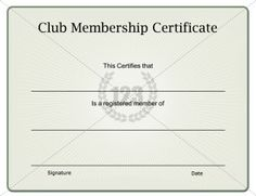 Membership Certificate Templates Best Quality LLC Free Download ...