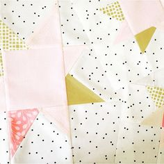 That sashing is perfection. I have this fabric