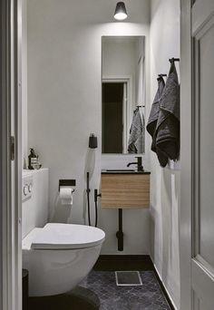 WC-tilan tyyli
