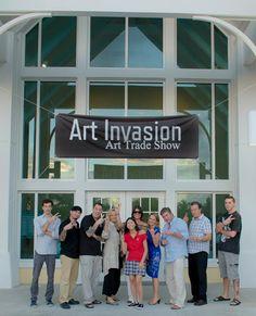 Art Invasion Art Trade Show   www.thelittlewhitegallery.com www.jannettedellanosphotography.com  The Little White Gallery Online Custom Art & Photography Sales. Jannettedellanos@rocketmail.com