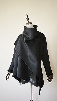 truth2teatold:  69th Department Vanessa's Fugue coat/shawl