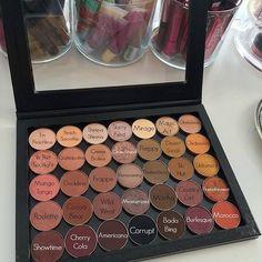Makeup Geek Shadows/Z Palette Make Up Geek, Make Up Kits, Makeup Inspo, Makeup Inspiration, Beauty Makeup, Makeup 101, Nude Makeup, Beauty Dupes, Highlighter Makeup