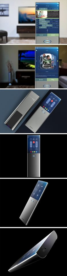 One button. One screen. That's all you need for limitless control over your smart TV with this equally smart remote control concept! Inspired by the Samsung design language, this clever clicker makes it easier than ever to do everything from fine tune picture quality to adjusting the volume using an unitive touchscreen interface. Users can even browse the guide without interrupting their current program by scrolling through it directly on the screen.